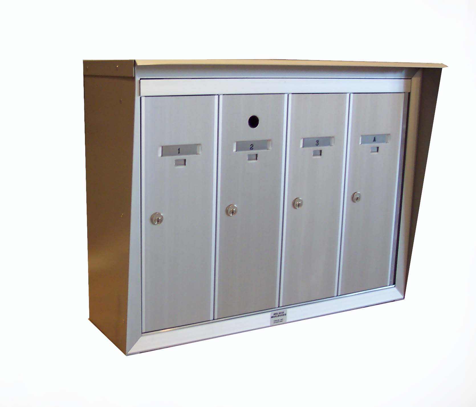 Open Residential Mailboxes. Exterior Module Open Residential ...