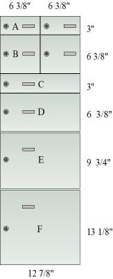 Door sizes.